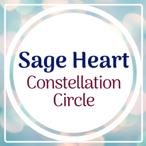 Sage Heart Constellation Circle @  The CorUnum Yurt