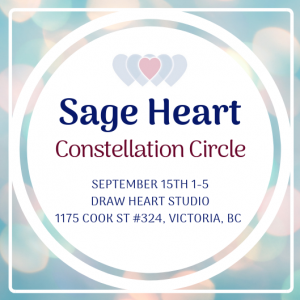 Sage Heart Constellation Circle in Victoria BC @ dRAW heART